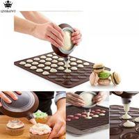 Wholesale Macaron Pen - Kitchen Accessories Decorating Tip Sets Silicone Macaron Cake Icing Piping Decorating Pen 3 Nozzles Set Kit Baking Tool