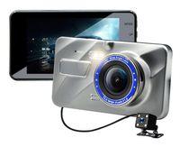 mega video completo al por mayor-Full HD car DVR 2Ch delantero 170 ° trasero 120 ° 1080P videocámara del tablero del automóvil WDR G-sensor grabación en bucle monitor de estacionamiento dashcam grabador de video