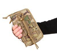 bloquear carteras al por mayor-20 * 12 * 3CM X-LOCK Tactical Wallet Handbag paquete de la tarjeta de crédito EDC Nylon bolsa bolsas de teléfono móvil