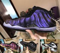 Wholesale men awesome - 2018 Mens Basketball Shoes Athletic Sports Shoe Awesome Speed Foam One Penny Hardaway Royal Blue Eggplant Purple Night Maroon Fruity Pebble