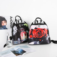 Wholesale Types School Bags - Pink Type Backpack Secrets Travel kanken school bag Makeup bag
