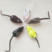 Wholesale fresh water fishing lures resale online - Refit Lure False Erbium Pesca Fresh Water Fishing Baits Snakehead Mouse False Erbium Hook Hot Sale cx ii