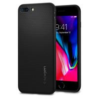 ar do iphone 5,5 venda por atacado-100% original spigen caso de armadura de ar líquido para iphone 8 plus / iphone 7 plus (5.5