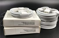 Wholesale oem cables - A++++ Original OEM Quality 7 generations 1m 3ft USB Data Sync Charger Cable for samsung s8 7 6 phone 5 6 7 With retail package boxes