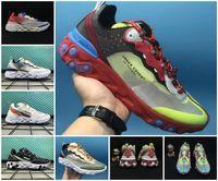 Wholesale blue rest - New Design 2018 AIR Epic React Element Men running shoes Jun TAKAHASHI designers lightweight walking Rest Under Cover Mens sport sneakers