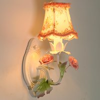Wholesale mail art for sale - Package Mail Creative Wall Lamp Iron Art Rose Wedding Decorating Lamps Led Headlamp E14 Of The Living Room wall lamp lights