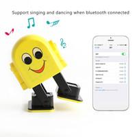 Wholesale portable app mp3 player resale online - Dancing Bluetooth Speaker Intelligent APP Control Bluetooth Mini Speaker Educational Robot Toys for Kids Babies Cute Smart