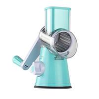 ferramenta de cozinha em espiral venda por atacado-Multifuncional Manual Espiral Vegetal Slicer Chopper Mandoline Slicer Queijo Ralador Inteligente Cortador De Legumes Aparelhos De Cozinha Ferramentas
