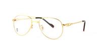anteojos con montura dorada vintage al por mayor-Diseñador de la marca Mujeres Ronda de oro lleno de metal Gafas de sol Marcos Piernas de los hombres de moda Vintage Shade Cat Eye gafas de sol anteojos