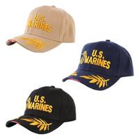 marine armeekappe großhandel-US Army Baseball Caps Navy SEALs Männer SEALs Tactical Cap Fans für Sport Visiere