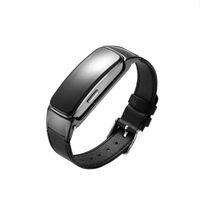 Wholesale wrist bluetooth headset - New Smart Wristband B3 Plus a Bluetooth Earphone Headset with Sleep Monitor Heart Rate can Notification Tracker Smart Talk Band