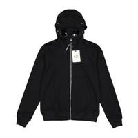 erkek pamuk rüzgarlık toptan satış-18ss C.P. Şirket Kapüşonlu Ceket Erkek Kadın Moda Fermuar Rüzgarlık Ceket Rahat Streetwear Giyim Dış Giyim Pamuk Hoodies Ceket HFYMJK008