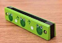harmonica enfants achat en gros de-Bande Dessinée Enfants Harmonica Musical Jouet Éducatif Au Début 16 Trous Harmonicas Cadeau Pour De nombreux Styles 3 56hh