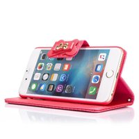 Wholesale iphone 6s flip phone case - Flip Stand Wallet Leather Phone Case Phone Cover with Metal Butterfly Decoreation For iPhone s iPhone7 plus