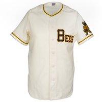 arılar evler toptan satış-Tuz Gölü Arılar 1959 Ev Forması 100% Dikişli Nakış Logolar Vintage Beyzbol Formalar Özel Herhangi İsim Herhangi Bir Numara Ücretsiz Kargo