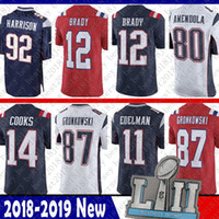 a27a90d59 Wholesale football jerseys 92 online - mens Limited New Patriot Tom Brady  Jersey11 Julian Edelman14 Brandin