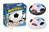 Wholesale levitating toys resale online - 30pcs LED Suspension Football Indoor Sport Levitate Football Toys Air Power Soccer Ball For Parent child Interaction Decompression Toy