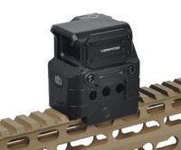 taktischer roter punkt laser sichtweite großhandel-Neue FC1 Red Dot Sight 2 MOA Reflexvisier 1X Holographische Sight Tactical Red Dot Zielfernrohr Zielfernrohr Für 20mm Schiene