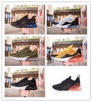 Wholesale stone cushions - High Quality New Arrival Cushion 270 Men Women Running Shoes Dusty Cactus White Black Red Sepia Stone Sneakers AH8050