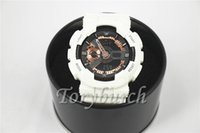 niño nuevo reloj deportivo al por mayor-1 unids Nuevo relogio G110 + caja de relojes deportivos para hombres, pequeños punteros sin reloj de pulsera, reloj militar, reloj digital, buen regalo para hombre, dropship