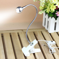 Wholesale Laptop Adjustable Table - USB Rechargable Flexible Eye-care Adjustable Reading LED Light Clip-on Clamp Beside Table Desk Lamp Laptop Book Studying Light