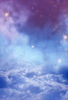 ingrosso fotografia di lavanda-Fotografia Fantasy Fondali Romantico Notte Cielo Nuvole Lavanda Sfondo Fond Studio Photo Wedding Baby Shower Photophone