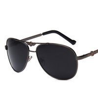 4d8f9e37dd Cubojue Mens Sunglasses Polarized Black Lens Frog Sun Glasses for Man  Driving Fishing Brand Male Sunglass