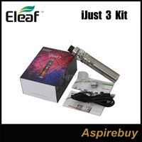 Wholesale old batteries for sale - Group buy Eleaf ijust Kit Normal Old Version mAh iJust Battery W Max Output with ELLO Duro Atomizer Original