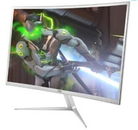 Wholesale Computers Lcd Monitors - Curved surface monitor 23.6 inch 24 LCD computer games video game screen display.