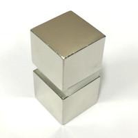 2PCS Super Strong magnet N52 Rare Earth Neodymium Magne Block 25x25x22mm Rare Earth Neo Neodymium neodymium magnetic Materials block