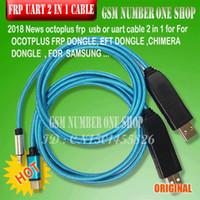 herramienta de desbloqueo de cable al por mayor-Octoplus FRP 2 en 1 Cable Uart Desbloqueo Cable UART Cable FRP Herramienta para Octoplus FRP Dongle