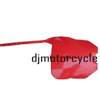 ingrosso bicicletta in metallo-Frontale in plastica Numero senza piastra Fender Cover Fairing per Honda CRF70 Style Dirt Bike