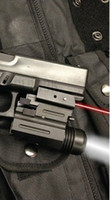 Wholesale w laser for sale - Group buy New Pistol Red Dot Laser Sight Lumens LED Flashlight GLK S W SIG XD BERETTA
