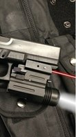 ingrosso pistola laser led-Nuovo mirino laser a punto rosso a pistola + torcia a LED da 200 lumen GLK, SW, SIG, XD, BERETTA