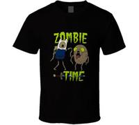 Wholesale adventure time finn jake - Adventure Time Zombie Finn And Jake Cartoon T Shirt