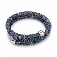swarovski neues armband großhandel-2018 neue mode mit kristall von swarovski armbänder armreifen für frauen hochzeiten partei schmuck zubehör