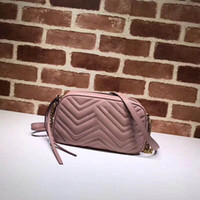 Wholesale lovely ladies leather for sale - Group buy Real leather marmont Soho style Top quality handbags women shoulder bags crossbody purse lovely handbags