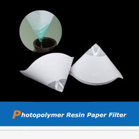40pcs lot DLP SLA 3D Printer Parts Filter Funnel, Photopolymer Resin Filament Paper Filter For ANYCUBIC Photon UV