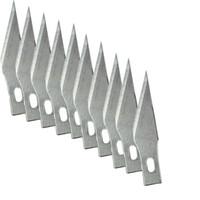 ingrosso strumenti di taglio per incisioni-11 # 10 pz Lame per strumenti di intaglio del legno Incisione Artigianato Scultura Coltello Bisturi Utensile da taglio Riparazione PCB