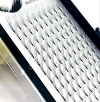 ingrosso ciglia di volume 6d-2019 prolunga ciglia volume russo 6D stelo corto ventagli pre-realizzati curl C / D curvatura 0,07 / 0,1 mm ciglia ciglia estensioni individuali
