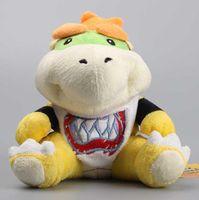 High Quality Super Mario Koopa Bowser Jr Cute Stuffed Dolls Plush Toys Children Gift 7 18 Cm