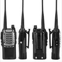 ingrosso talkie walkie baofeng uv 8w-Baofeng BF-UV8D Radio bidirezionale Walkie Talkie UHF 8W 128CH DTMF Dual PTT FM Radio ricetrasmittente Ham 10 KM UV-5R 8W