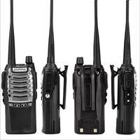 walkie 8w achat en gros de-Baofeng BF-UV8D Talkie-walkie radio bidirectionnelle UHF 8W 128CH DTMF émetteur-récepteur double PTT Radio FM 10 KM UV-5R 8W