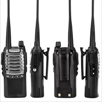 Wholesale walkie dtmf for sale - Group buy Baofeng BF UV8D Two Way Radio Walkie Talkie UHF W CH DTMF Dual PTT FM Transceiver Ham Radio KM UV R W