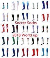 Discount gold cup socks - AAA Thailand Soccer Socks 2018 world cup mexico USA Spain Argenti Home away Soccer Long Socks adult football sport Sock fit foot size 39-45