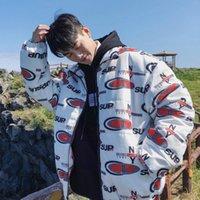 ingrosso prodotti giapponesi-2018 Vestiti di cotone imbottiti stampati da uomo nuovi prodotti alla moda invernali cinesi Giappone Inghilterra High Street Smart Casual