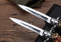 Wholesale Defence Knives - Mafia automatic knife Switch blade 9 inch 11 inch Italian Akc multi-functional self-defence hunting knife HOT high quality