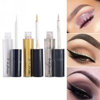 beauty gifts for girls 2018 - Glitter Women Shiny Long Lasting Eye Liner Waterproof Makeup Eyeliner Liquid Beauty Cosmetic Tool Gift For Girls Maquiagem