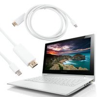 Wholesale white macbook hdmi for sale - Group buy VBESTLIFE New Mini DisplayPort DP to HDMI Adapter AV Converter Cable M or M for Apple Mac Macbook White Cable