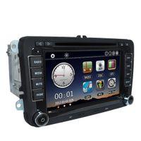 "Wholesale gps car navigation vw - Universal Car 7"" 1080P DVD Player GPS Navigation BT Car Radio 2 Din in Dash PC Stereo Head Unit for VW Golf 5+Free Map+Free Card"
